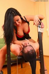 Every slaves dream   to be dominated by two beautiful girls